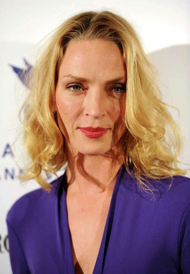 Jury Member Uma Thurman attends Cinema For Peace during the 64th Annual Cannes Film Festival in Cannes, France. Photo: Ian Gavan, Getty Images / 2011 Getty Images
