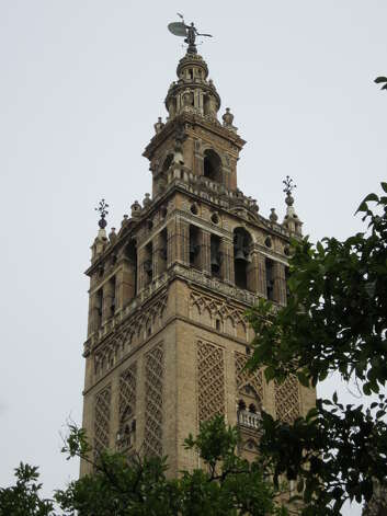 Sevilla's cathedral tower. Photo: David Hendricks/dhendricks@express-news.net