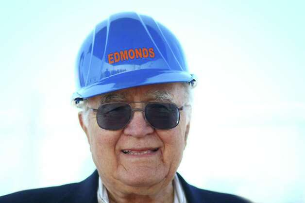 Dicks founder and namesake Dick Spady is shown during the groundbreaking for the new Dick's Drive-In on Thursday, May 19, 2011 on Highway 99 in Edmonds. Photo: JOSHUA TRUJILLO / SEATTLEPI.COM