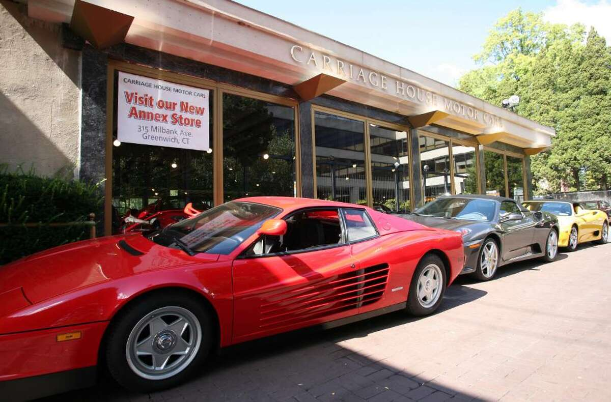 Carriage House Motor Cars, which sells Bentleys, Rolls Royce, Ferraris and other ultra-high-end cars, had 45 false alarms from May 2002 to November 2008 that the town responded to and the dealership has refused to pay the fines associated with the false alarms.