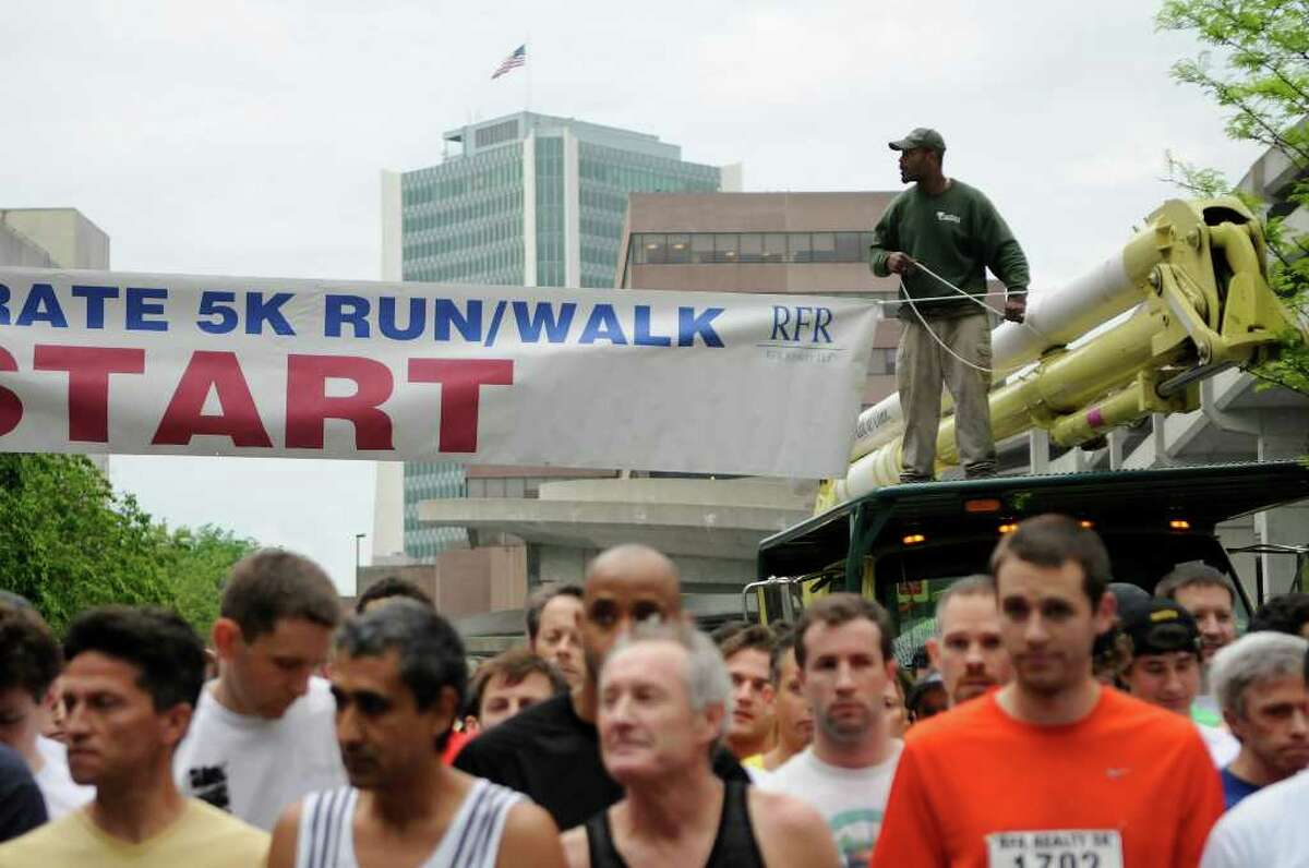 More than 1,900 participants gathered for the RFR Realty Corporate 5K Run/Walk in downtown Stamford, CT on Thursday, May 19, 2011 for a fundraiser to benefit the Boys & Girls Club of Stamford.
