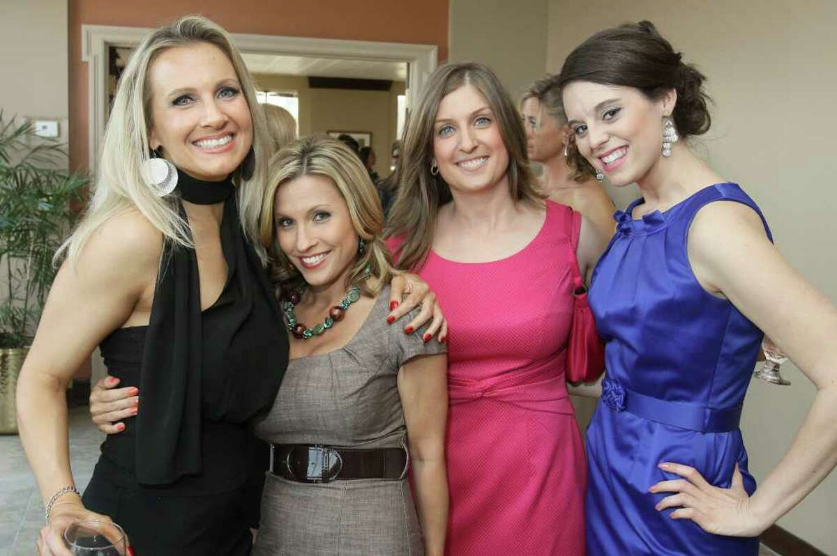 From left: Melanie Madden, Dani Brown, Kara Morelli and Danielle Valenti during Rock the Runway for Health, a benefit for Whitney M. Young Jr. Health Services Programs and Services in Albany, N.Y., on May 12, 2011. (Photo by Joe Putrock / Special to the Times Union)