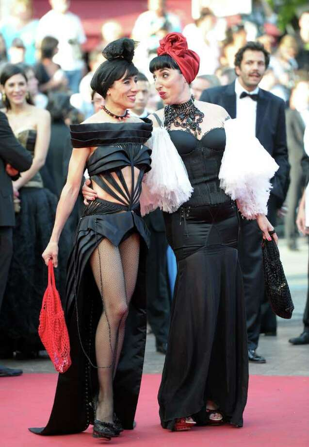 "CANNES, FRANCE - MAY 19:  Rossy de Palma (R) attends the ""The Skin I Live In"" premiere at the Palais des Festivals during the  64th Cannes Film Festival in Cannes, France. Photo: Michael Buckner, Getty Images / 2011 Getty Images"