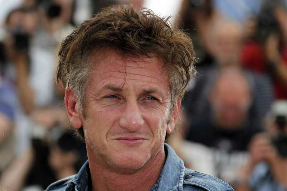 "Sean Penn poses during the photocall of ""This Must Be The Place"" presented in competition at the 64th Cannes Film Festival on Friday in Cannes.   AFP PHOTO / FRANCOIS GUILLOT Photo: AFP/Getty Images"