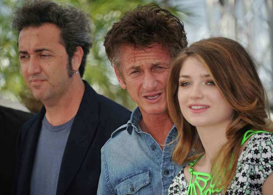 "Director Paolo Sorrentino, actor Sean Penn and actress Eve Hewson attend the ""This Must Be The Place"" photocall during the 64th Annual Cannes Film Festival at Palais des Festivals on Friday in Cannes, France. Photo: Francois Durand, Getty Images / 2011 Getty Images"