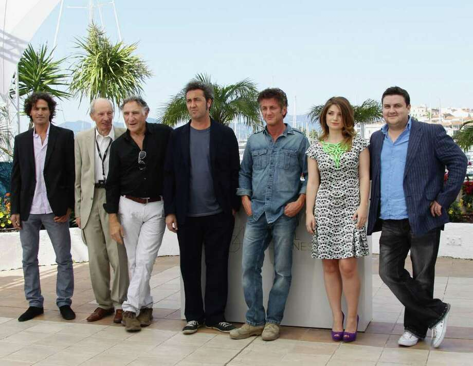 "Actors Liron Levo, Heinz Lieven, Judd Hirsh, Director Paolo Sorrentino, Sean Penn, Eve Hewson and Simon Delaney attend the ""This Must Be The Place"" photocall during the 64th Annual Cannes Film Festival at Palais des Festivals on Friday in Cannes, France. Photo: Vittorio Zunino Celotto, Getty Images / 2011 Getty Images"