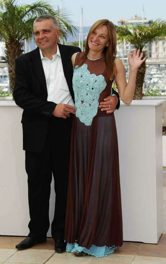 "Actors Tatiana Chapovalova and Mikhail Barskovitch attend the ""Okhotnik"" photocall during the 64th Annual Cannes Film Festival at Palais des Festivals on Friday in Cannes, France. Photo: Vittorio Zunino Celotto, Getty Images / 2011 Getty Images"