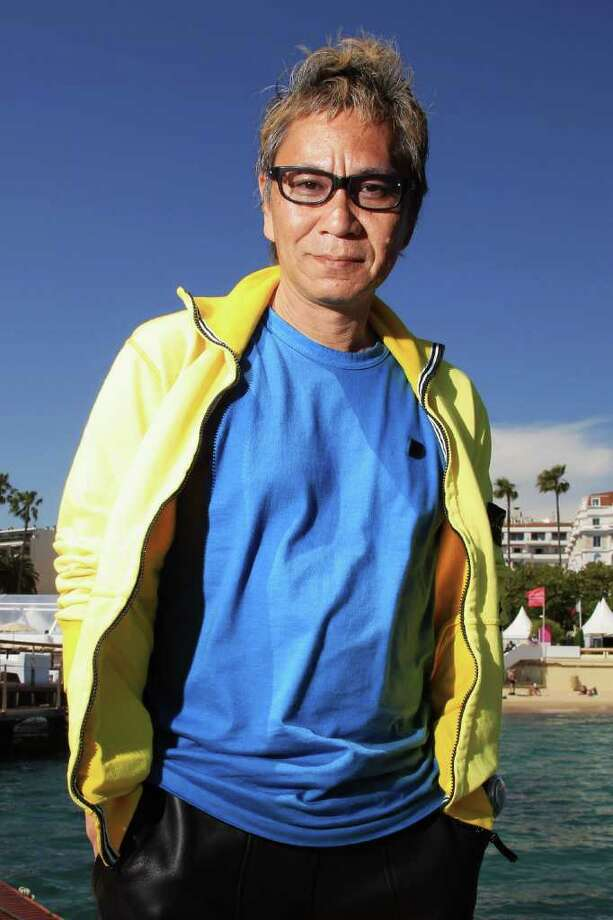 Director Takashi Miike poses at a Harakiri portrait session during the 64th Annual Cannes Film Festival at Majestic Beach Pier on Friday in Cannes, France. Photo: Andreas Rentz, Getty Images / 2011 Getty Images
