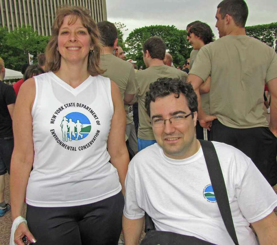 Were you Seen at the CDPHP Workforce Team Challenge in Albany on Thursday? Photo: Phoebe Sheehan / Special To The Times Union