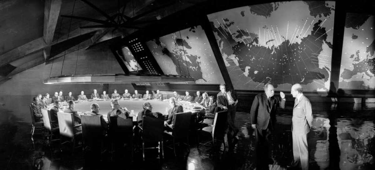 """How will the world end? Aside from the Rapture, Hollywood has shown us quite a few ways over the years. Nuclear holocaust was a common -- and all too plausible -- doomsday scenario during the Cold War era, immortalized in Stanley Kubrick's classic """"Dr. Strangelove or: How I Learned to Stop Worrying and Love the Bomb"""" (1964)."""