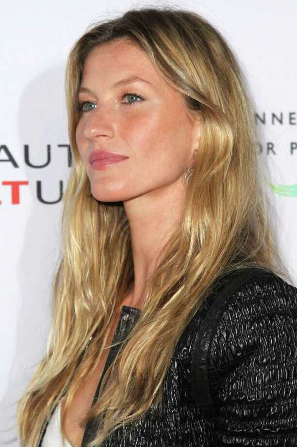 """Model Gisele Bundchen attends the Opening Night of """"Beauty Culture"""" at The Annenberg Space For Photography in Century City, California. Photo: Frederick M. Brown, Getty Images / 2011 Getty Images"""