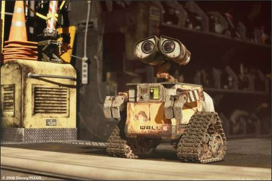 "In ""WALL-E"" (2008), humans have abandoned their heavily polluted homeworld, leaving it in the care of robots like the title character (and the odd cockroach). Photo: Walt Disney Pictures"