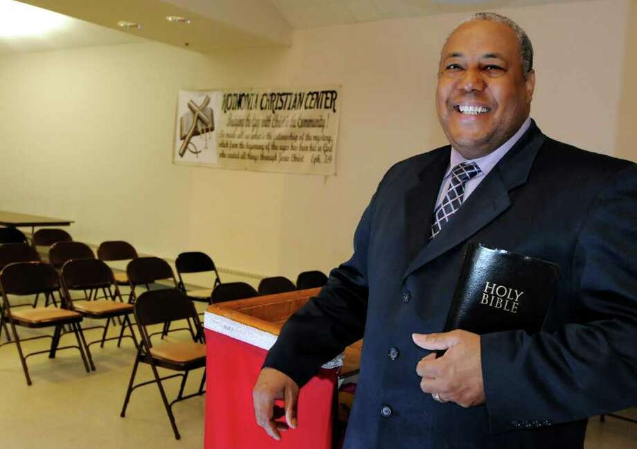 Rev. Theodore Ward of Koinonia Christian Ministries on Wednesday, May 18, 2011, at Lincoln Heights Community Center in Schenectady, N.Y. (Cindy Schultz / Times Union) Photo: Cindy Schultz