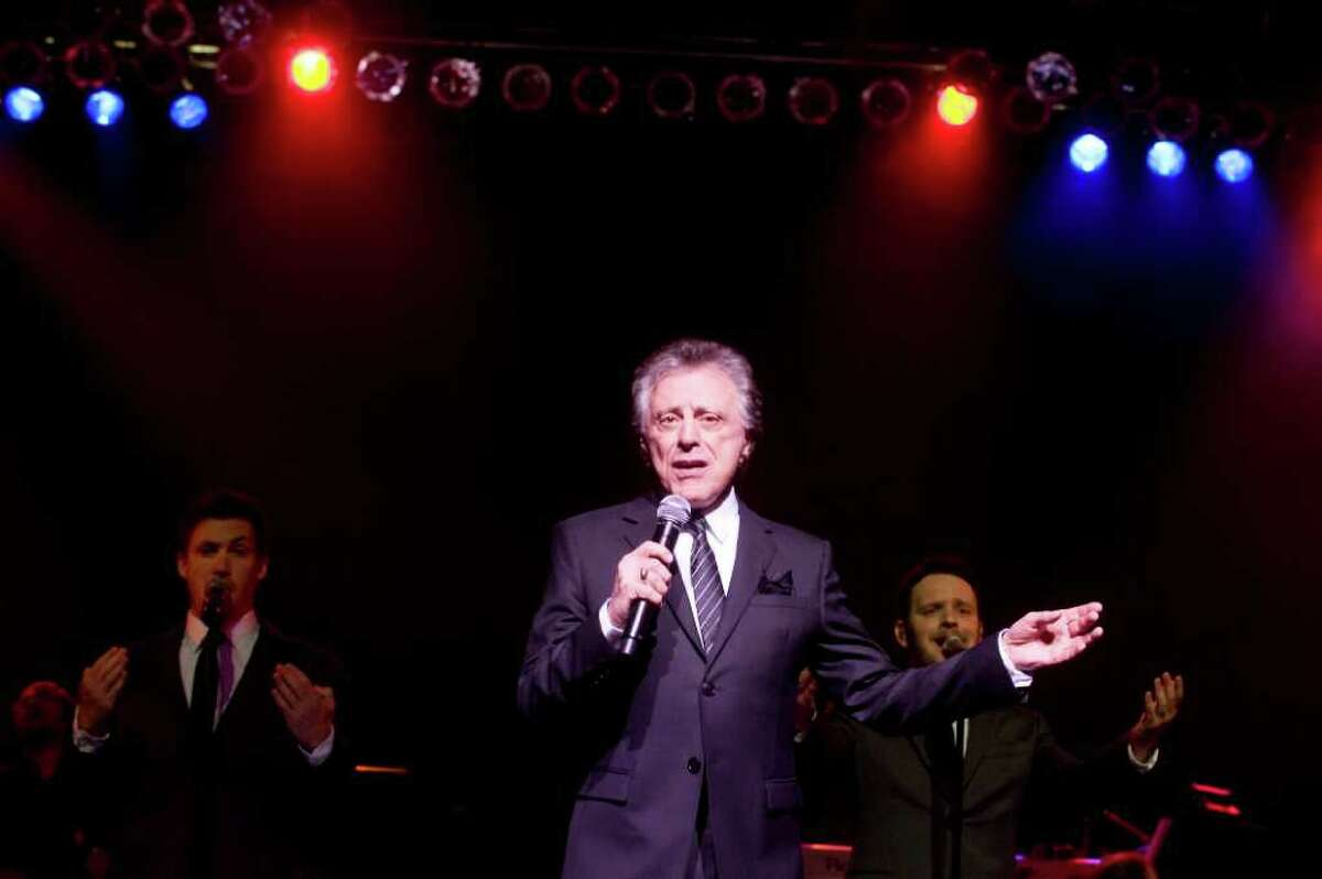 Frankie Valli and the Four Seasons perform at the Dana's Angels Research Trust Benefit Gala & Concert at The Palace Theatre in Stamford, Conn. on Friday May 20, 2011.