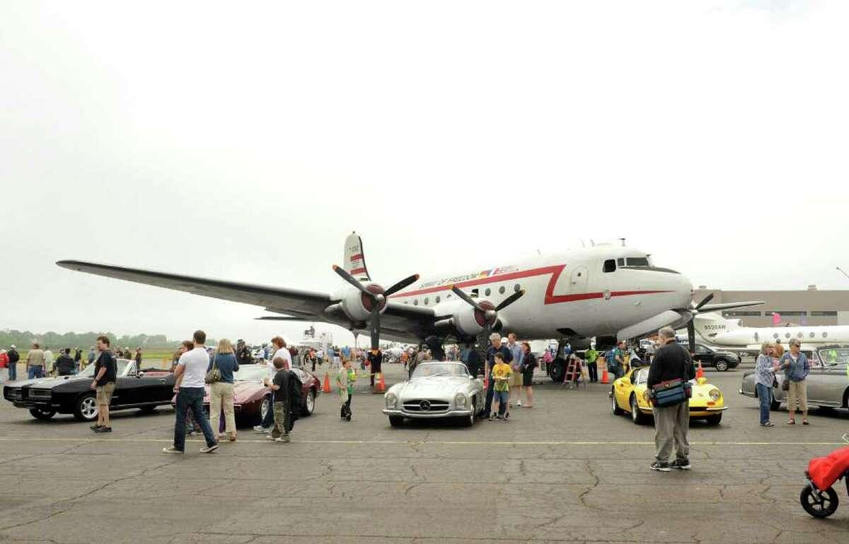 Wings and Wheels 2011; British Invasion Saturday, May 21, 2011 at Igor I. Sikorsky Memorial Airport in Stratford, Conn.
