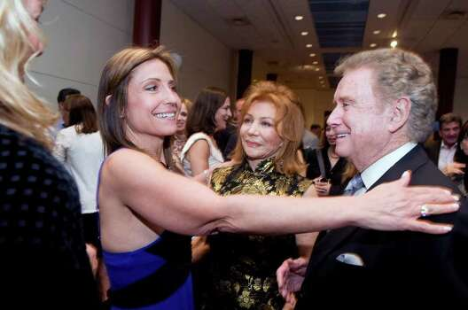 Maria Kessel greets Regis and Joy Philbin at the Dana's Angels Research Trust Benefit Gala & Concert at The Palace Theatre in Stamford, Conn. on Friday May 20, 2011. Photo: Kathleen O'Rourke, ST / Stamford Advocate
