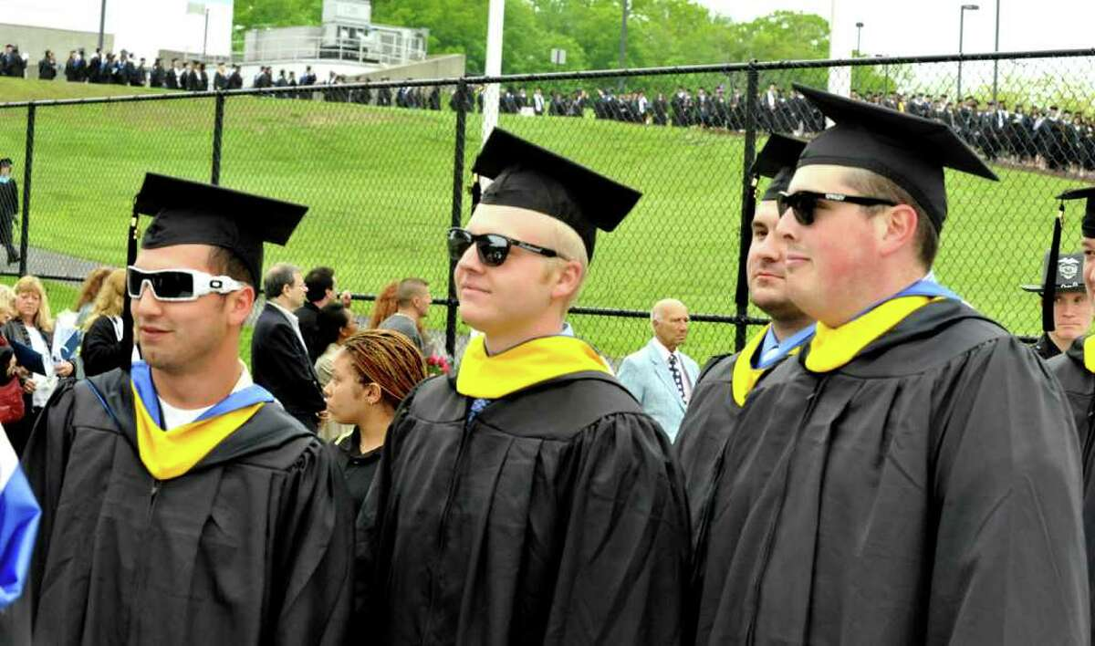 Commencement ceremonies were held at Western Connecticut State University, in Danbury, Sunday, May 22, 2011,