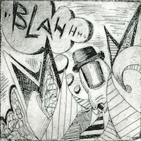"""Rules of Thumb,"" 2011, etching and aquatint by third prize winner Norwalker Mark Pikul. Photo: Contributed Photo / Norwalk Citizen"