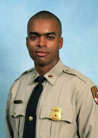 Maryland State Trooper Shaft S. Hunter, a Bridgeport, Conn. native, was killed in a crash on I-95 in Maryland on Saturday, May 21, 2011. Photo: Contributed Photo / Connecticut Post Contributed