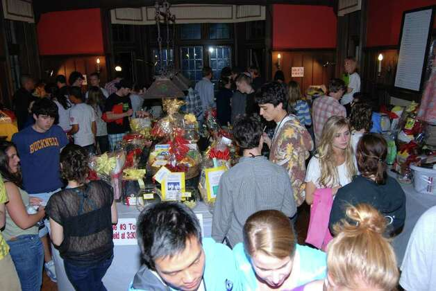 The Raffle Room was filled with amazing prizes and amazed students! Photo: Jeanna Petersen Shepard / New Canaan News