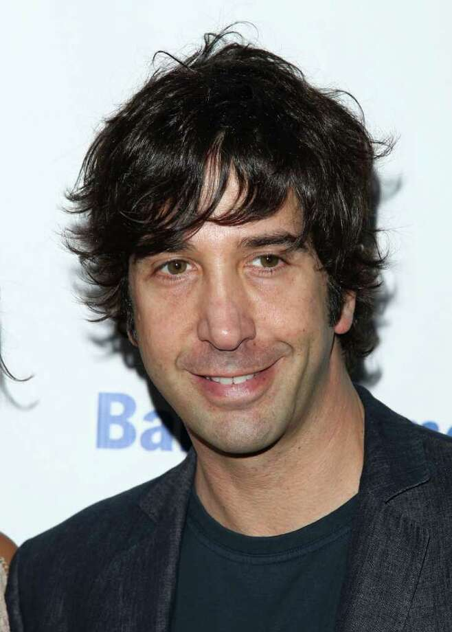 "FILE - In this June 21, 2010 file photo, actor David Schwimmer attends the Public Theater Annual Gala featuring a performance of ""The Merchant of Venice"" in New York. A spokeswoman for the 44-year-old actor and director says Schwimmer and his wife, Zoe Buckman, recently welcomed their first daughter. Cleo Buckman Schwimmer was born May 8. (AP Photo/Peter Kramer, file) Photo: Peter Kramer"