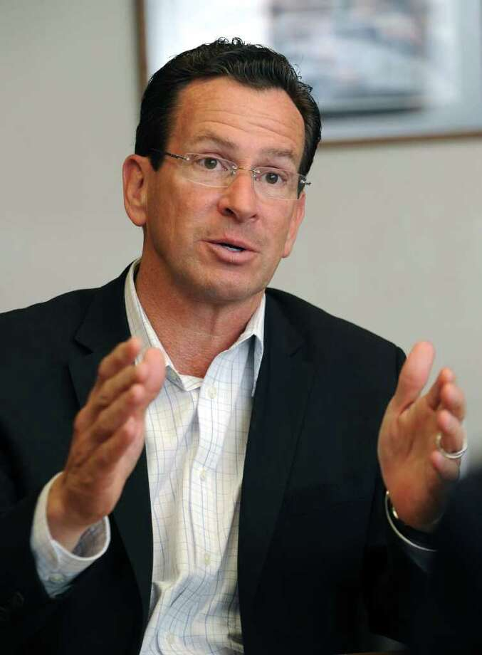 Dan Malloy Photo: Carol Kaliff / The News-Times