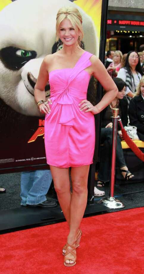 "TV host Nancy O'Dell attends the premiere of DreamWorks Animation's ""Kung Fu Panda 2"" at Mann's Chinese Theatre in Hollywood, California. Photo: David Livingston, Getty Images / 2011 Getty Images"