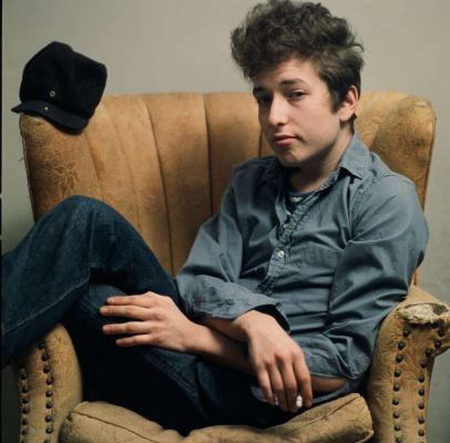 Bob Dylan, shown in a 1963 photo, has stayed true to himself throughout his career. Photo: Getty Images