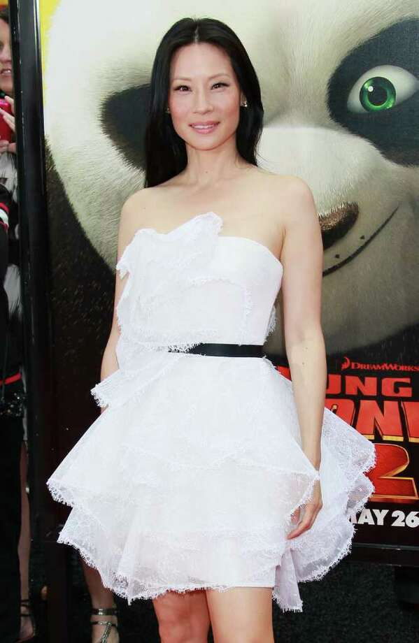 "Actress Lucy Liu attends the premiere of DreamWorks Animation's ""Kung Fu Panda 2"" at Mann's Chinese Theatre in Hollywood, California. Photo: David Livingston, Getty Images / 2011 Getty Images"