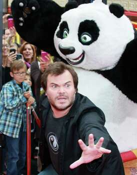 "HOLLYWOOD, CA - MAY 22:  Actor Jack Black attends the premiere of DreamWorks Animation's ""Kung Fu Panda 2"" at Mann's Chinese Theatre on May 22, 2011 in Hollywood, California. Photo: David Livingston, Getty Images / 2011 Getty Images"
