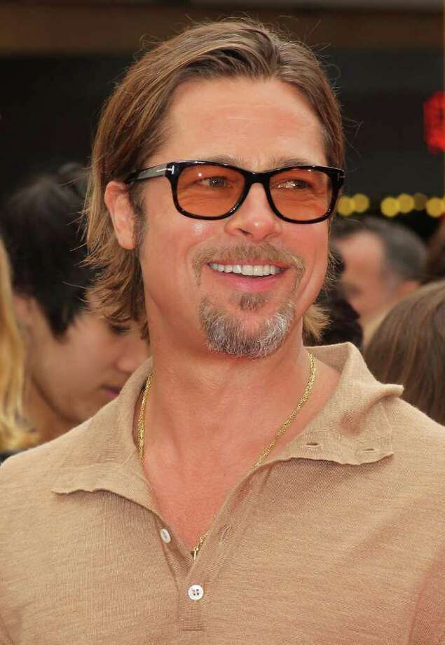 "Actor Brad Pitt attends the Premiere of DreamWorks Animation's ""Kung Fu Panda 2"" at Mann's Chinese Theatre in Hollywood, California. Photo: Frederick M. Brown, Getty Images / 2011 Getty Images"