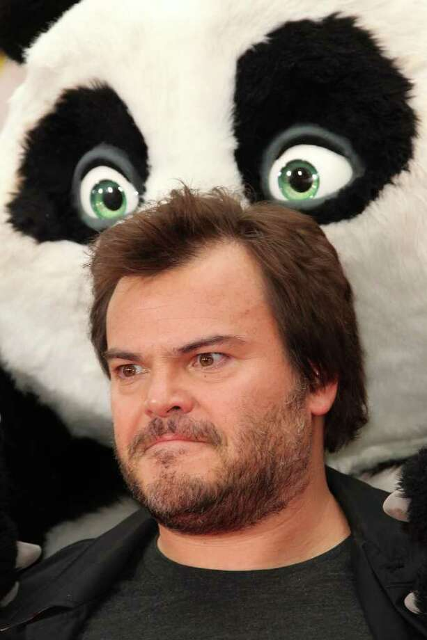 "Actor Jack Black attends the Premiere of DreamWorks Animation's ""Kung Fu Panda 2"" at Mann's Chinese Theatre in Hollywood, California. Photo: Frederick M. Brown, Getty Images / 2011 Getty Images"