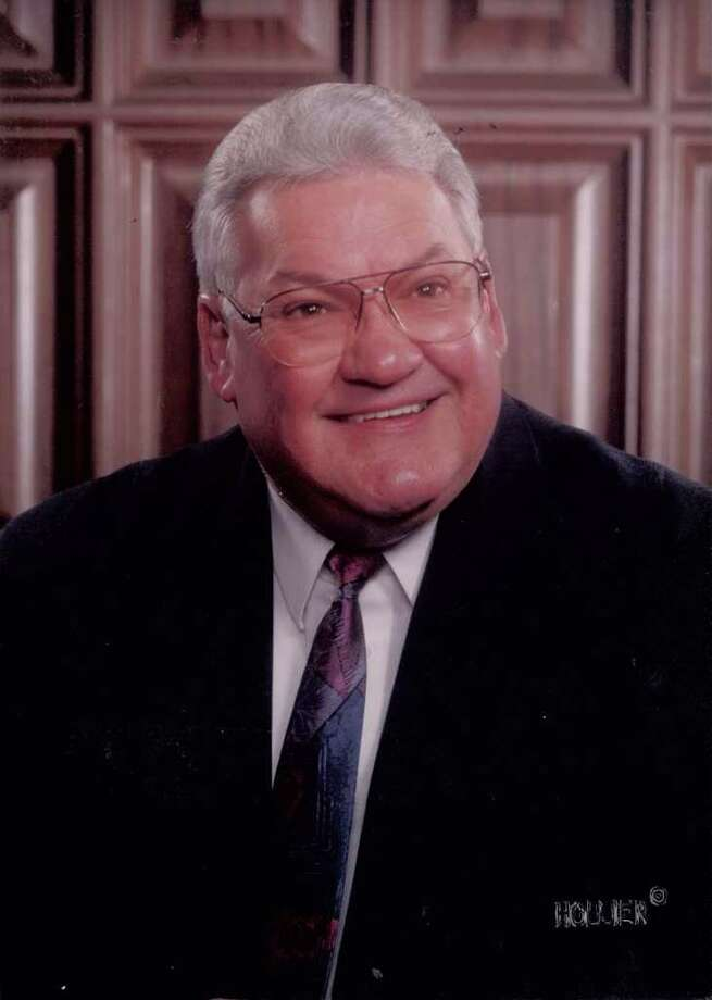 Judge John A. Borne, pictured here in 2001, died Tuesday at a Beaumont hospital. Borne, a Nederland municipal judge, had also served as a justice of the peace and a member of the Groves City Council.  File Photo