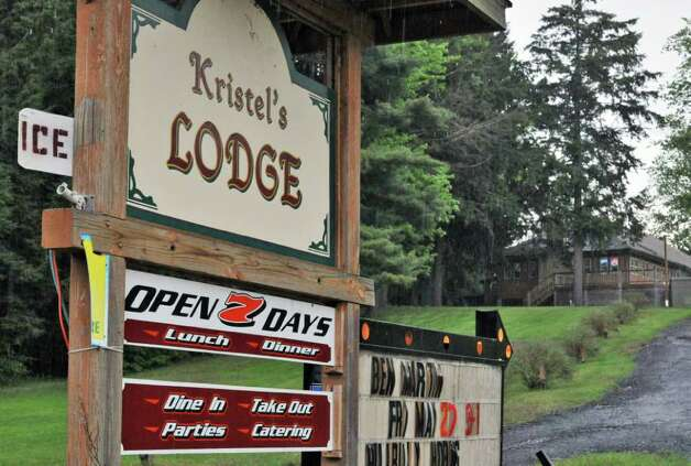 Kristel's Lodge on County Route 110 in Broadalbin Tuesday afternoon, May 24, 2011.   (John Carl D'Annibale / Times Union) Photo: John Carl D'Annibale / 00013268A