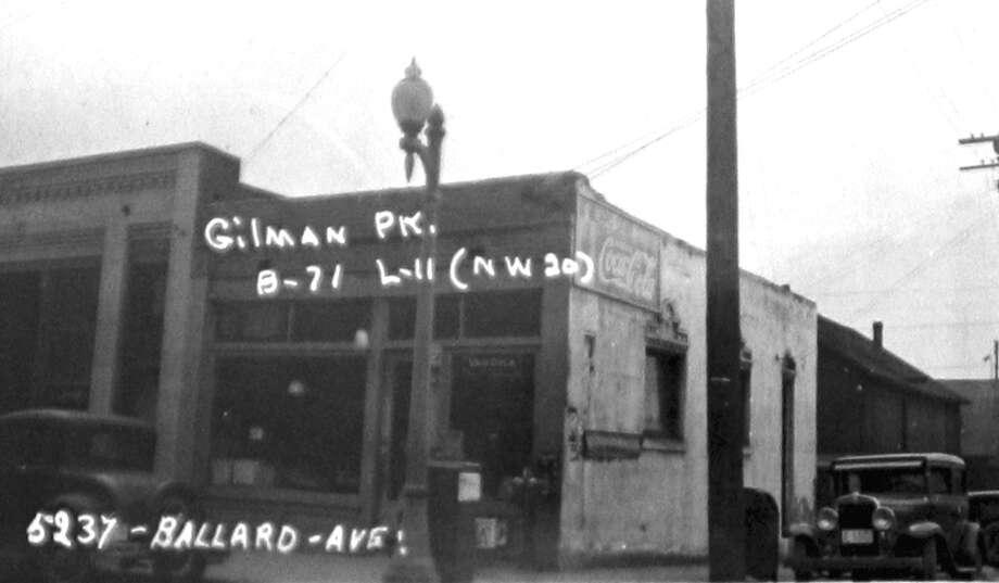 5237 Ballard Avenue Northwest in an undated photo. Photo: (Puget Sound Regional Branch Of The Washington State Archives) / (Puget Sound Regional Branch of the Washington State Archives/seattlepi.com file)