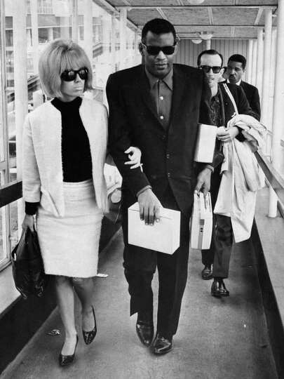 Ray Charles Wife Eileen Williams Ray charles and friend at an