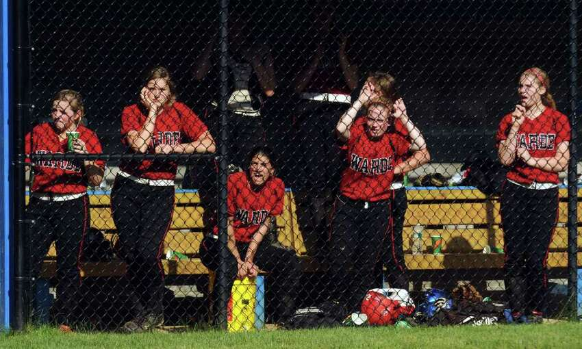 Highlights from girls FCIAC softball quarterfinals between Fairfield Warde and Darien in Darien on Tuesday May 24, 2011.