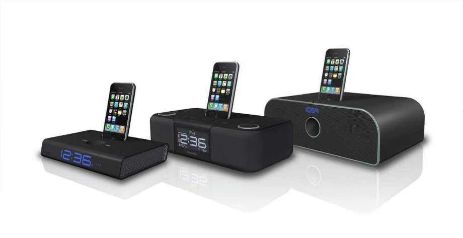 XtremeMac's line up of alarm clocks and audio systems are made to amplify and enhance the Apple iPhone and iPod experience. The Associated Press / AP2008