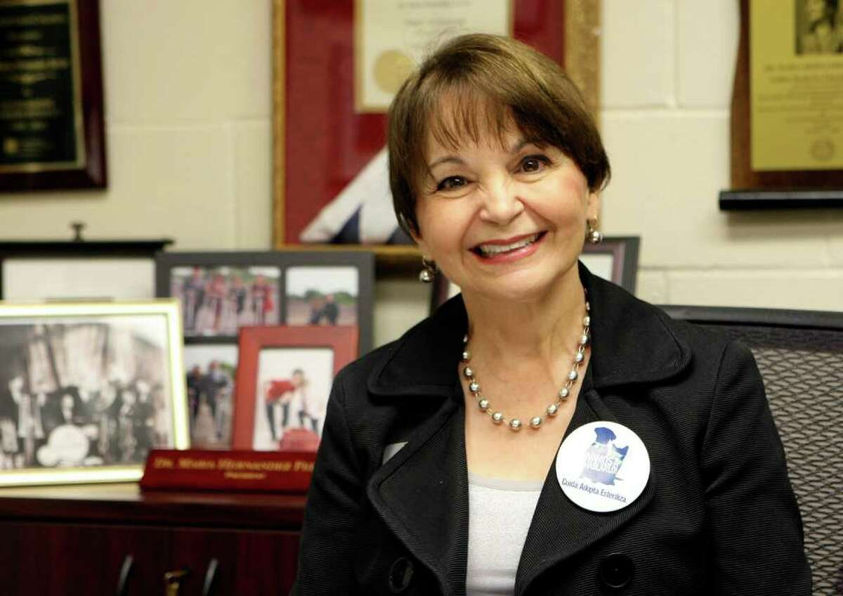 Texas A&M University-San ANtonio president maria hernandez Ferrier.