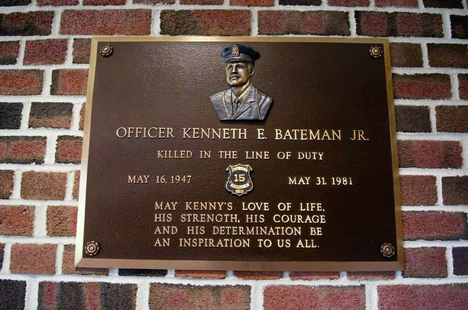 This month marks the 30th anniversary of slain Darien police Officer Kenneth Bateman's death in Darien, Conn. on Wednesday May 25, 2011. Photo: Kathleen O'Rourke / Stamford Advocate