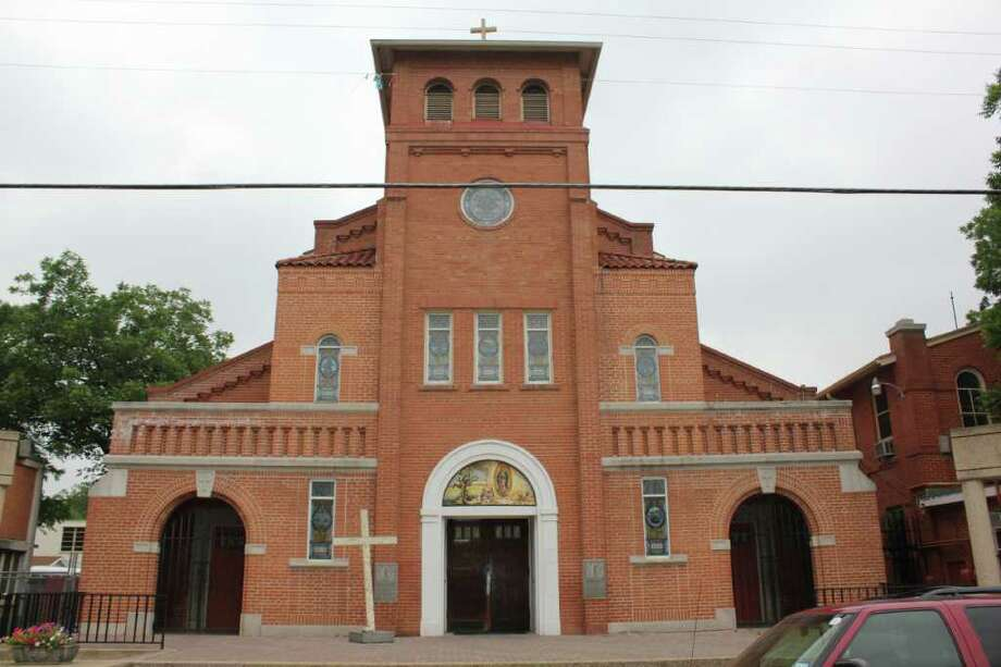 Our Lady of Guadalupe Church is celebrating its 100-year anniversary with a festival starting at noon Saturday. The church is located at 1321 El Paso St. Photo: Photo By Noi Mahoney