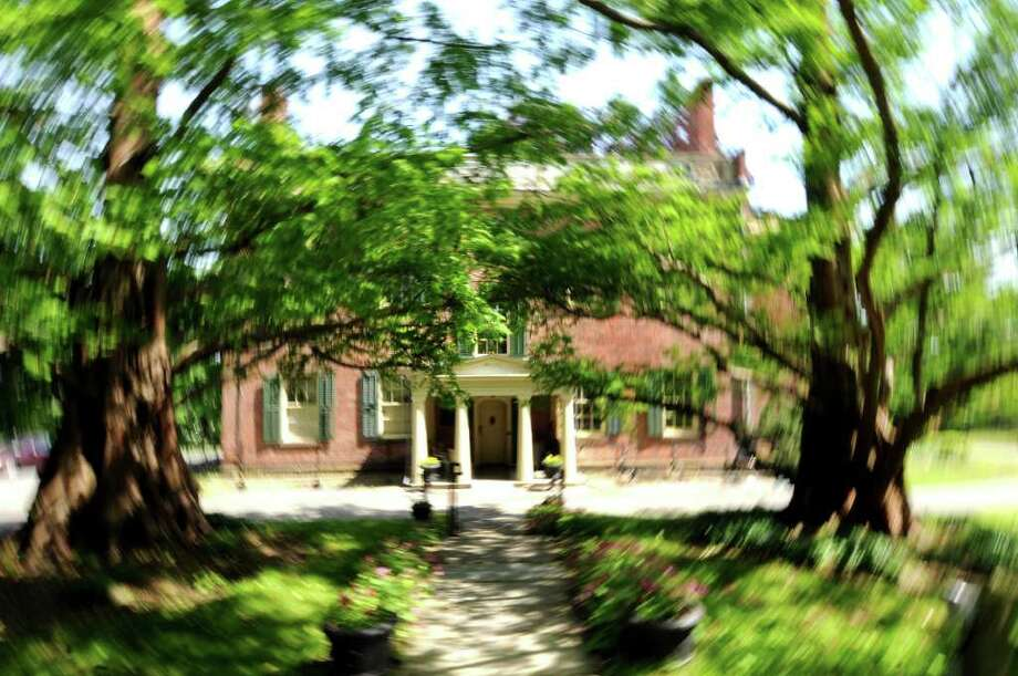 The main entrance of Ten Broeck Mansion on Wednesday, May 25, 2011, in Albany, N.Y. (Cindy Schultz / Times Union) Photo: Cindy Schultz