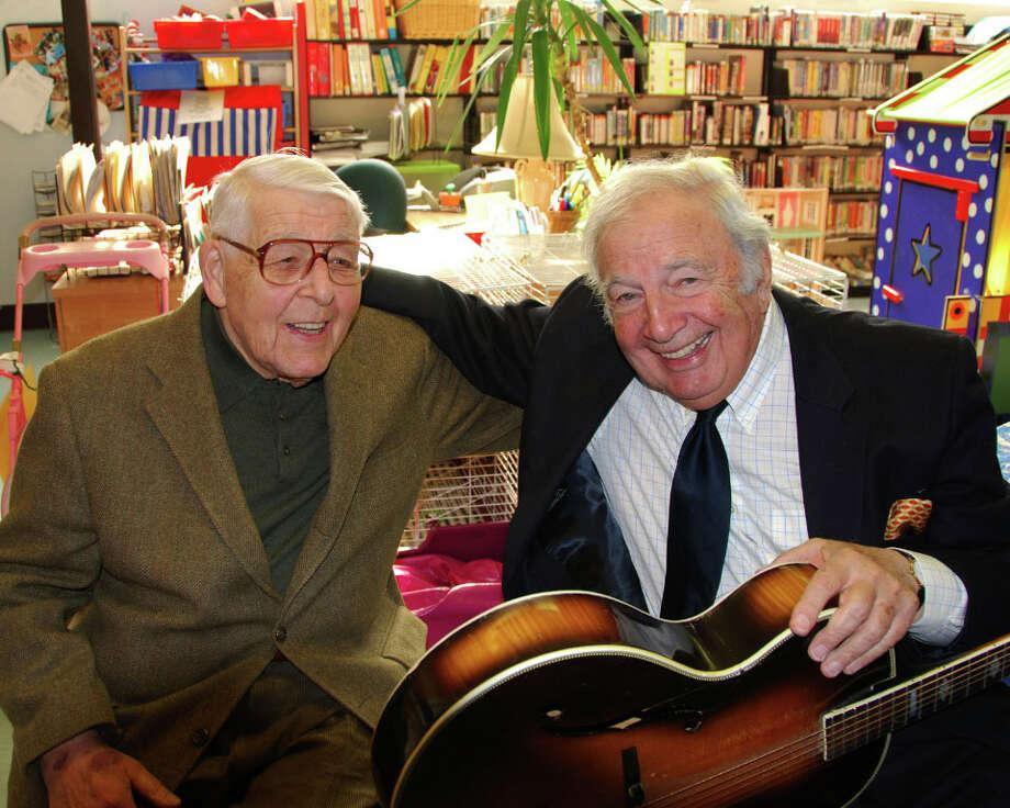 Max Wilk with jazz guitarist John Pizzarelli Photo: Contributed Photo