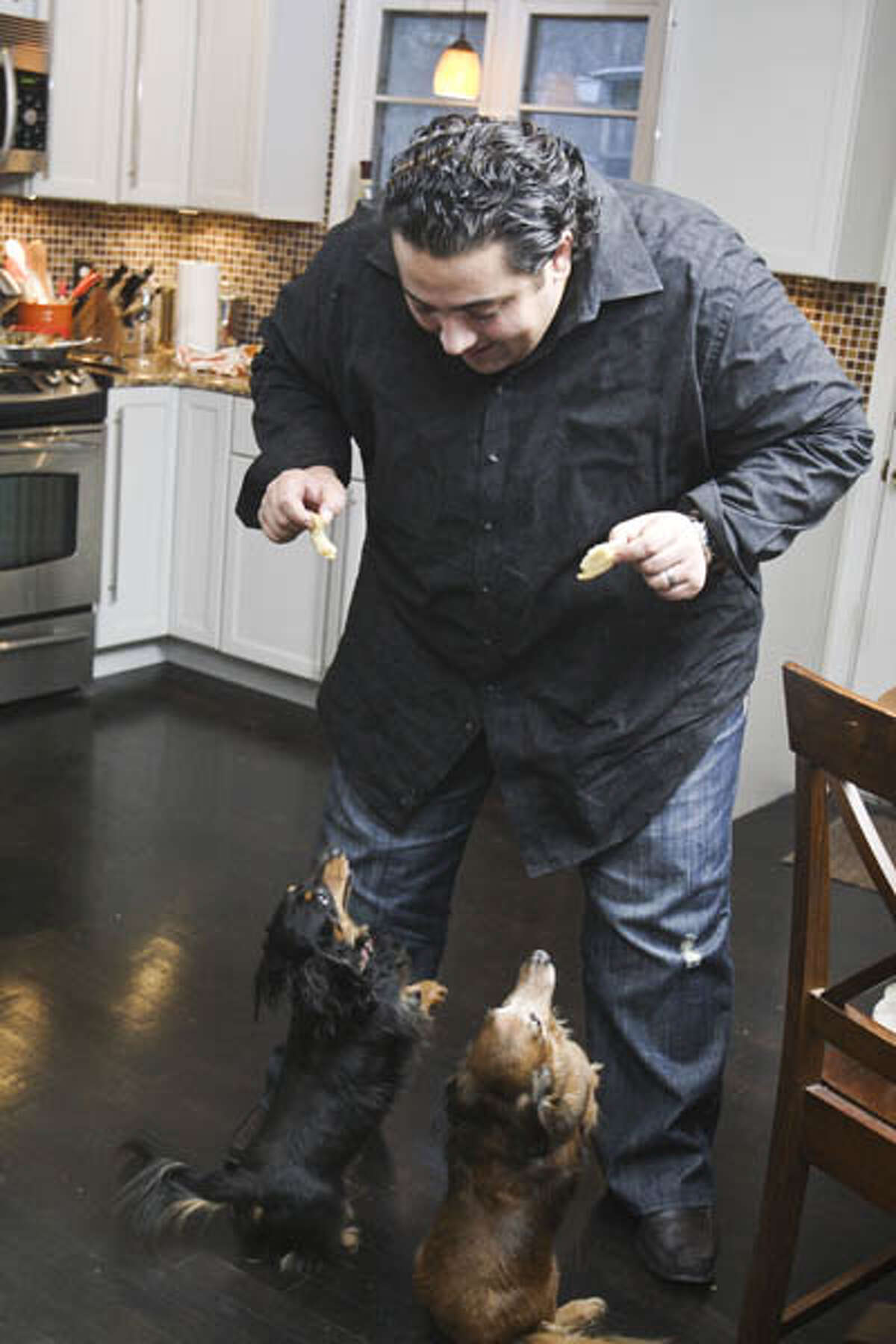 @home with Chef Dominick Purnomo and his wife Carolyn. (Photos by Suzanne Kawola/Life@Home) Click here to read the story and here to get recipes.