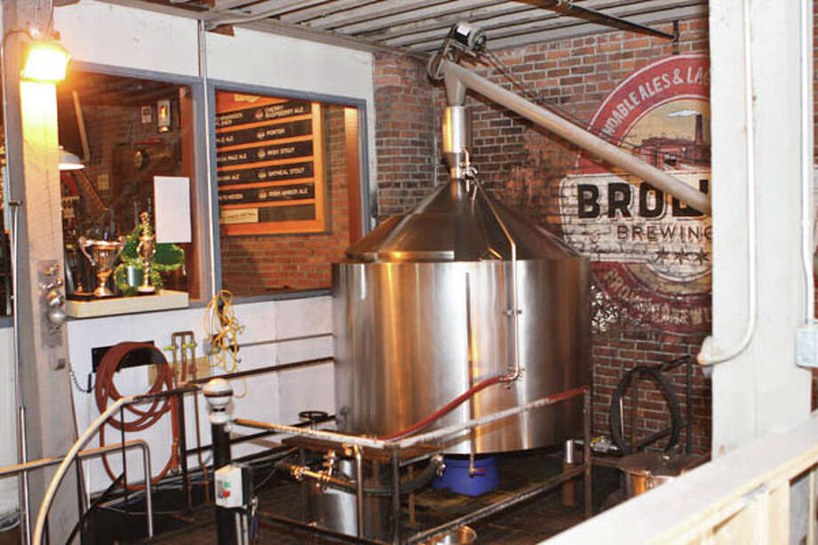 Brown's Brewing Company in Troy: A craft beer brewery that happens to serve food. (Photos by Krishna Hill/Life@Home) Click here to read the story. Photo: Krishna Hill