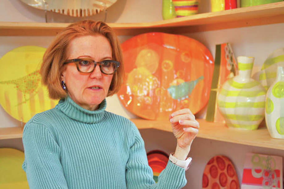 Artisan Mary Anne Davis expresses her appreciation for everyday beauty through her slip cast porcelain houseware. (Photos by Paul Barrett/life@home) Click here to read the story.