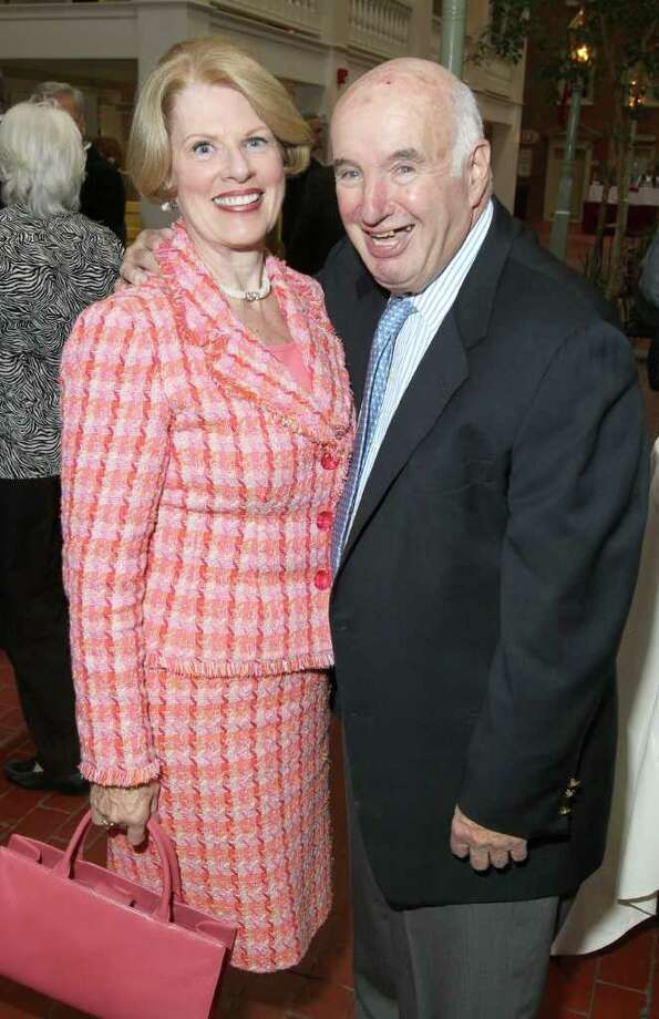 Maureen and Ed Lewi attend the John McLoughlin Roast to benefit The John McLoughlin Fund, part of the Endowment at the Center for Disability Services, on May 17, 2011, in Albany, N.Y. (Photo by Joe Putrock / Special to the Times Union) Photo: Joe Putrock / Joe Putrock