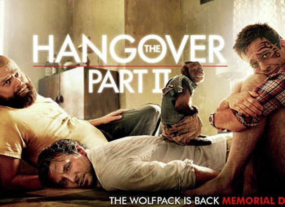 """The Hangover, Part II"" is screening in area theaters this weekend. Photo: Contributed Photo / Westport News contributed"