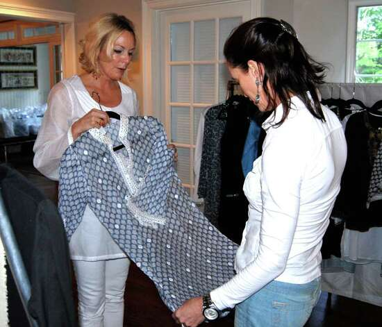 Fashion line a hit for two new canaan women new canaan news