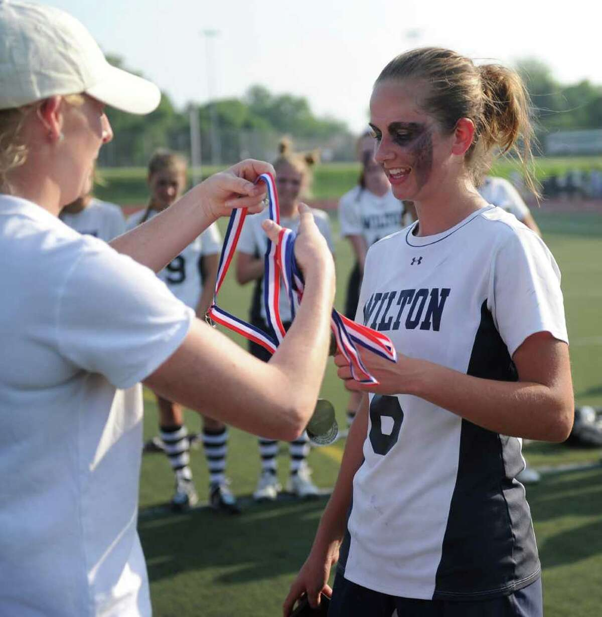 Friday's FCIAC final at Brien McMahon High School in Norwalk on May 28, 2011.